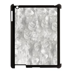 Abstract In Silver Apple Ipad 3/4 Case (black) by StuffOrSomething