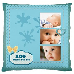 Baby By Baby   Large Cushion Case (two Sides)   Blgjr4rgn77u   Www Artscow Com Front