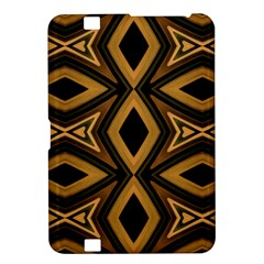 Tribal Diamonds Pattern Brown Colors Abstract Design Kindle Fire Hd 8 9  Hardshell Case by dflcprints