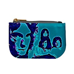 Led Zeppelin Digital Painting Coin Change Purse by SaraThePixelPixie