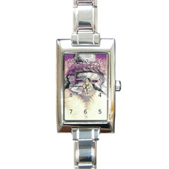 Tentacles Of Pain Rectangular Italian Charm Watch by FunWithFibro