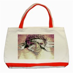 Tentacles Of Pain Classic Tote Bag (red) by FunWithFibro