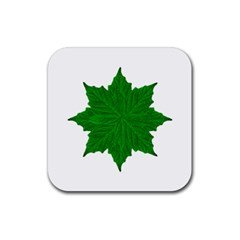 Decorative Ornament Isolated Plants Drink Coaster (square) by dflcprints