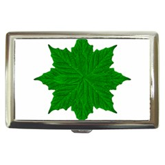 Decorative Ornament Isolated Plants Cigarette Money Case by dflcprints