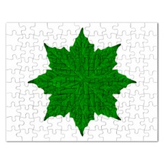 Decorative Ornament Isolated Plants Jigsaw Puzzle (rectangle) by dflcprints