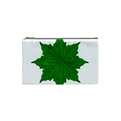 Decorative Ornament Isolated Plants Cosmetic Bag (small)