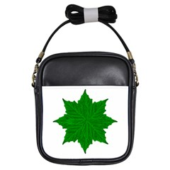 Decorative Ornament Isolated Plants Girl s Sling Bag by dflcprints