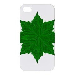 Decorative Ornament Isolated Plants Apple Iphone 4/4s Premium Hardshell Case by dflcprints