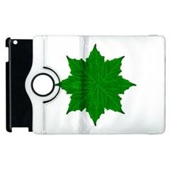 Decorative Ornament Isolated Plants Apple Ipad 3/4 Flip 360 Case by dflcprints
