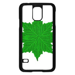 Decorative Ornament Isolated Plants Samsung Galaxy S5 Case (black) by dflcprints