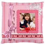 love - Large Cushion Case (One Side)