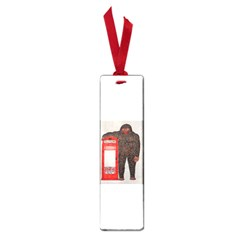Big Foot & Phonebox  Small Bookmark by creationtruth