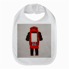 Big Foot In Phonebox  Bib by creationtruth