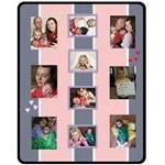 Phil Pink - Fleece Blanket (Medium)
