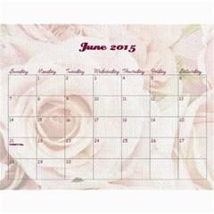 Chava Anniversary By Chava Landau   Wall Calendar 11  X 8 5  (18 Months)   3dwr0u8i1779   Www Artscow Com Jun 2015