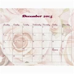 Chava Anniversary By Chava Landau   Wall Calendar 11  X 8 5  (18 Months)   3dwr0u8i1779   Www Artscow Com Dec 2015