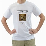 wanted - Men s T-Shirt (White)