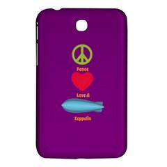 Peace Love & Zeppelin Samsung Galaxy Tab 3 (7 ) P3200 Hardshell Case