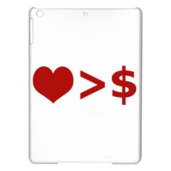 Love Is More Than Money Apple Ipad Air Hardshell Case by dflcprints