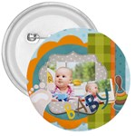 baby - 3  Button