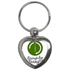 Work Schedule Concept Illustration Key Chain (heart) by dflcprints