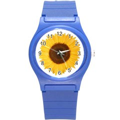 Sunflower Plastic Sport Watch (small) by sdunleveyartwork