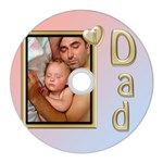 I love Dad CD Wall Clock