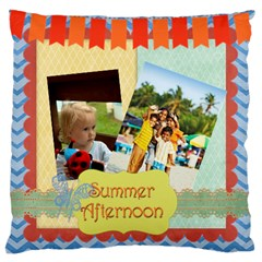 Summer By Summer Time    Large Cushion Case (two Sides)   P70i2b9l2tlp   Www Artscow Com Front