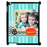 summer - Apple iPad 2 Case (Black)