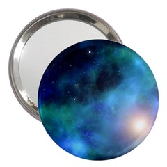 Amazing Universe 3  Handbag Mirror by StuffOrSomething