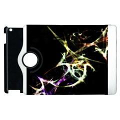 Futuristic Abstract Dance Shapes Artwork Apple Ipad 3/4 Flip 360 Case by dflcprints
