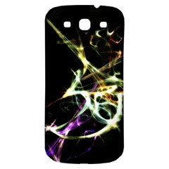 Futuristic Abstract Dance Shapes Artwork Samsung Galaxy S3 S Iii Classic Hardshell Back Case by dflcprints