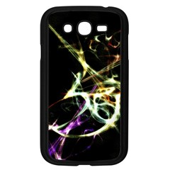Futuristic Abstract Dance Shapes Artwork Samsung Galaxy Grand Duos I9082 Case (black) by dflcprints