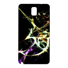 Futuristic Abstract Dance Shapes Artwork Samsung Galaxy Note 3 N9005 Hardshell Back Case by dflcprints