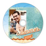summer - CD Wall Clock
