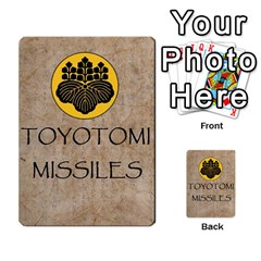 Seven Spears Expansion Toyotomi By T Van Der Burgt   Multi Purpose Cards (rectangle)   T2jnqnpbznbu   Www Artscow Com Back 47