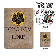 Seven Spears Expansion Toyotomi By T Van Der Burgt   Multi Purpose Cards (rectangle)   T2jnqnpbznbu   Www Artscow Com Back 49