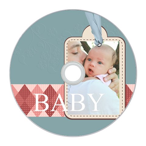 Baby By Baby   Cd Wall Clock   Utz07qycfy08   Www Artscow Com Front