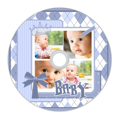 Baby By Baby   Cd Wall Clock   Ja1yd9aat8p2   Www Artscow Com Front
