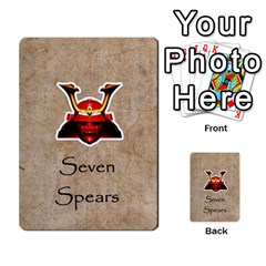Seven Spears Southern Daimyo Set By T Van Der Burgt   Multi Purpose Cards (rectangle)   4sn6imvfyy56   Www Artscow Com Front 49