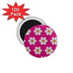 Daisies 1 75  Button Magnet (100 Pack) by SkylineDesigns