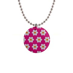 Daisies Button Necklace by SkylineDesigns