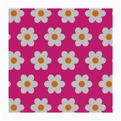 Daisies Glasses Cloth (medium) by SkylineDesigns