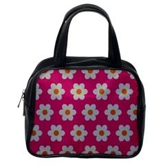 Daisies Classic Handbag (One Side) by SkylineDesigns
