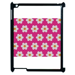 Daisies Apple Ipad 2 Case (black) by SkylineDesigns