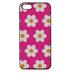 Daisies Apple Iphone 5 Seamless Case (black) by SkylineDesigns