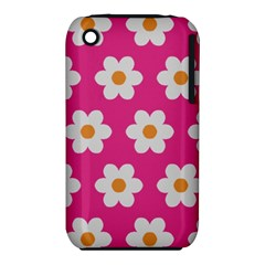 Daisies Apple Iphone 3g/3gs Hardshell Case (pc+silicone) by SkylineDesigns