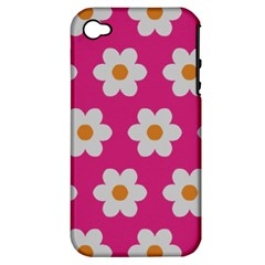 Daisies Apple Iphone 4/4s Hardshell Case (pc+silicone) by SkylineDesigns