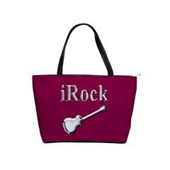 Irock Large Shoulder Bag by SaraThePixelPixie