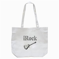 Irock Tote Bag (white) by SaraThePixelPixie